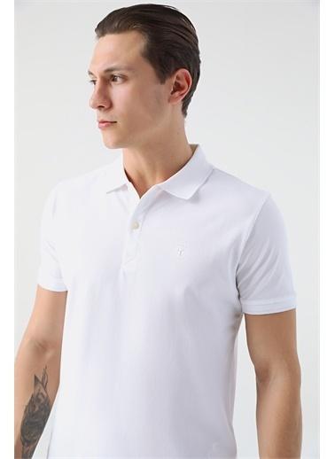 Tween Tween Nar Çiçeği T-Shirt Beyaz